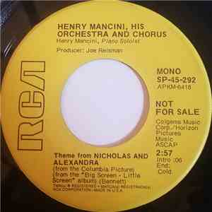 album Henry Mancini And His Orchestra And Chorus - Theme From Nicholas And Alexandra mp3 download