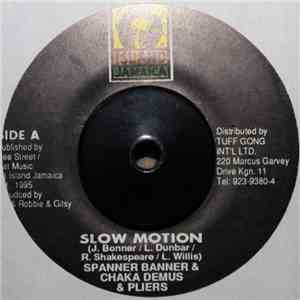 album Spanner Banner, Chaka Demus & Pliers - Slow Motion mp3 download
