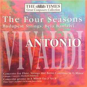 album Budapest Strings, Bela Banfalvi - The Four Seasons - Antonio Vivaldi mp3 download