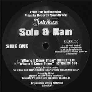 album Solo  & Kam  - Where I Come From mp3 download