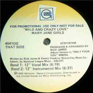album Mary Jane Girls - Wild And Crazy Love mp3 download