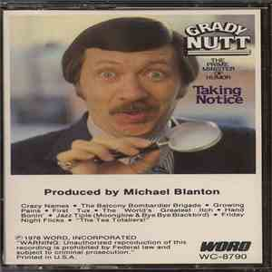 album Grady Nutt, The Prime Minister Of Humor - Taking Notice mp3 download