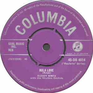 album Buddy Knox With The Rhythm Orchids - Hula Love / Devil Woman mp3 download