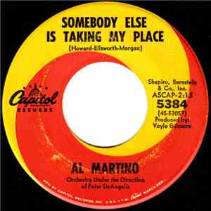 album Al Martino - Somebody Else Is Taking My Place mp3 download