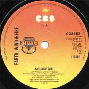 album Earth, Wind & Fire - Saturday Nite mp3 download