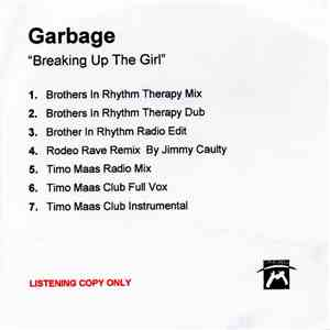 album Garbage - Breaking Up The Girl – 7 Mixes mp3 download