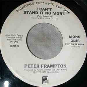 album Peter Frampton - I Can't Stand It No More mp3 download