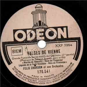 album Félix Chardon Et Son Orchestre - Valses De Vienne mp3 download