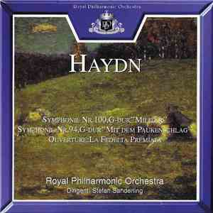 "album Joseph Haydn, Stefan Sanderling, The Royal Philharmonic Orchestra - Symphony Nr. 100 In G Major, ""Military"" / Symphony Nr. 94 In G Major, ""Surprise"" mp3 download"