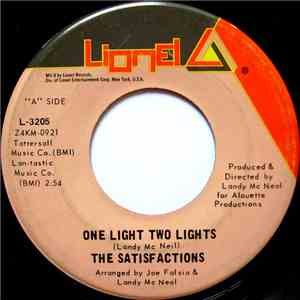 album The Satisfactions  - One Light Two Lights / Turn Back The Tears mp3 download