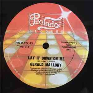 album Gerald Mallory - Lay It Down On Me mp3 download