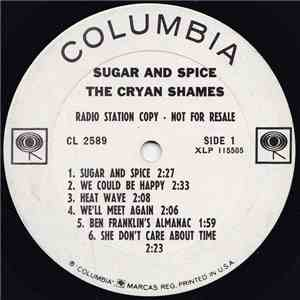 album The Cryan' Shames - Sugar & Spice mp3 download