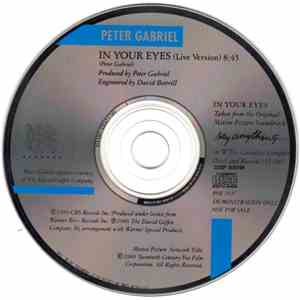 album Peter Gabriel - In Your Eyes mp3 download