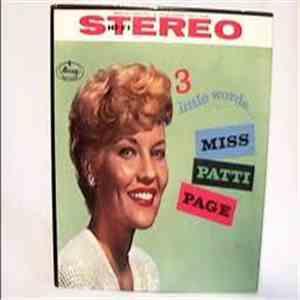 album Patti Page - 3 Little Words... Miss Patti Page mp3 download