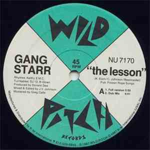 album Gang Starr - The Lesson mp3 download