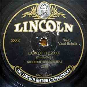 album The Goodrich Broadcasters / Cherwin And His Krueger's Lieder Orchestra - Lady Of The Lake / Little Log Cabin Of Dreams mp3 download