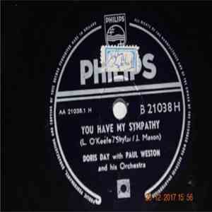 album Doris Day With Paul Weston And His Orchestra - You Have My Sympathy / The Second Star To The Right mp3 download