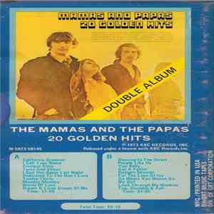 album Mamas And Papas - 20 Golden Hits mp3 download