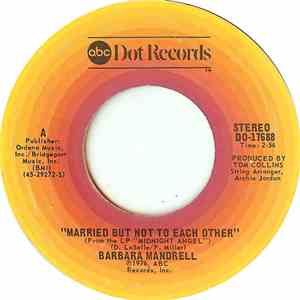 album Barbara Mandrell - Married But Not To Each Other mp3 download