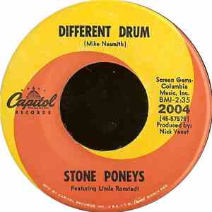 album Stone Poneys Featuring Linda Ronstadt - Different Drum / I've Got To Know mp3 download