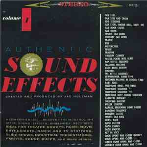 album Jac Holzman - Authentic Sound Effects Volume 1 mp3 download