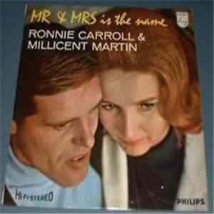 album Ronnie Carroll & Millicent Martin - Mr & Mrs Is The Name mp3 download