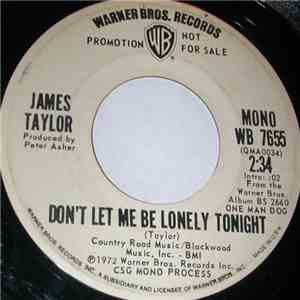 album James Taylor  - Don't Let Me Be Lonely Tonight mp3 download