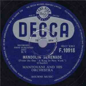 album Mantovani And His Orchestra - Mandolin Serenade / The Spring Song mp3 download
