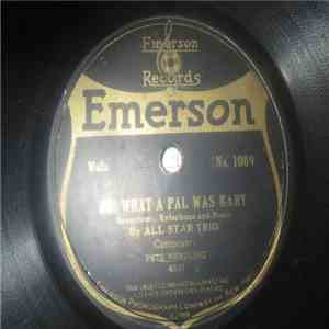 album All Star Trio / Emerson Military Band - Oh! What A Pal Was Mary / Tomahawk mp3 download