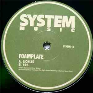 album Foamplate - Lionize mp3 download