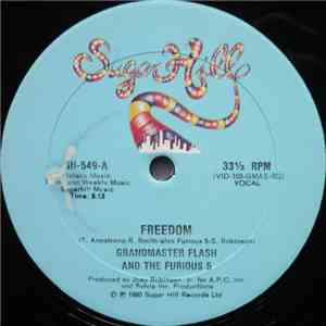 album Grandmaster Flash & The Furious 5 - Freedom mp3 download
