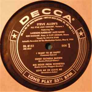 album Steve Allen  - Steve Allen's All Star Jazz Concert Volume 1 mp3 download