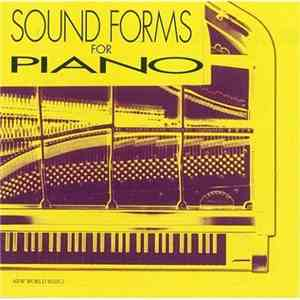 album Robert Miller  - Sound Forms For Piano mp3 download