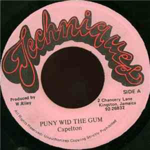 album Capleton - Puny Wid The Gum mp3 download