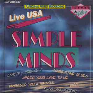 album Simple Minds - Live USA mp3 download