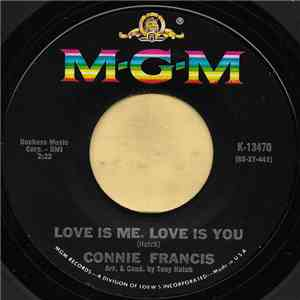 album Connie Francis - Love Is Me, Love Is You mp3 download