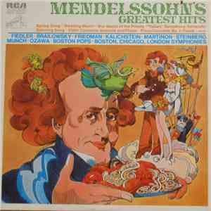 album Mendelssohn - Mendelssohn's Greatest Hits mp3 download