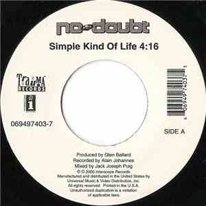 album No Doubt - Simple Kind Of Life mp3 download