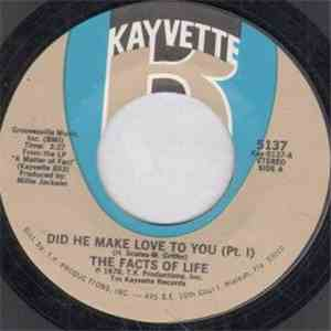 album The Facts Of Life - Did He Make Love To You mp3 download