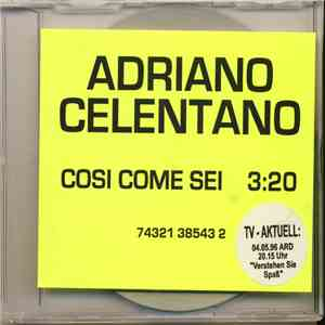 album Adriano Celentano - Cosi' Come Sei mp3 download
